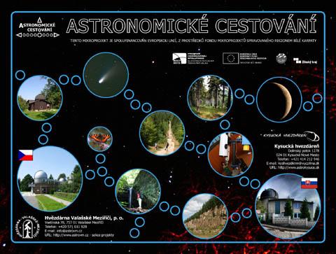 Infotabule k projektu Astronomické cestování.