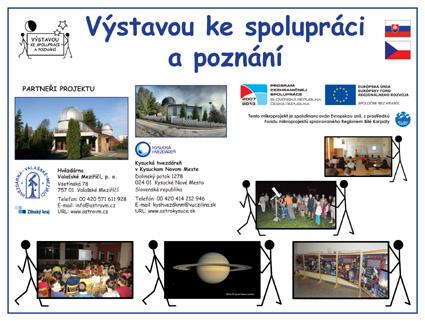 Infotabule projektu Výstavou ke spolupráci a poznání