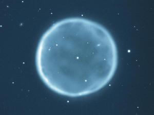 Abell 39 je příkladem planetární mlhoviny