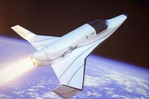 Kosmický letoun Lynx společnosti XCOR.