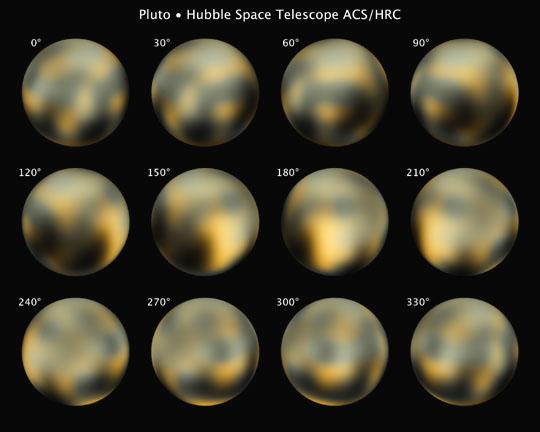 Fotografie Pluta pořízené kamerou na palubě HST