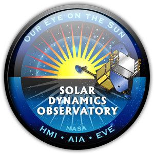 Logo astronomické družice SDO