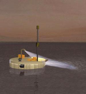 Návrh přistávacího modulu v rámci mise TandEM