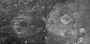 Krátery na Titanu