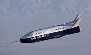 Zkouška raketoplánu X-40A