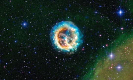 Pozůstatek po explozi supernovy
