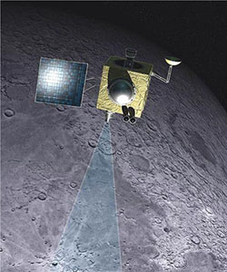 Indická měsíční sonda Chandrayaan-1