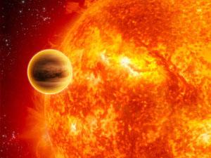 Exoplaneta objevená metodou tranzitu