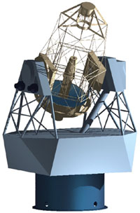 Sluneční dalekohled GREGOR