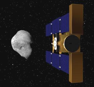Sonda Stardust u komety Tempel 1.