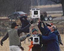 Start stratosférického balónu 17.11.1998. Zdroj: NASA MSFC