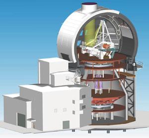 Sluneční dalekohled ATST