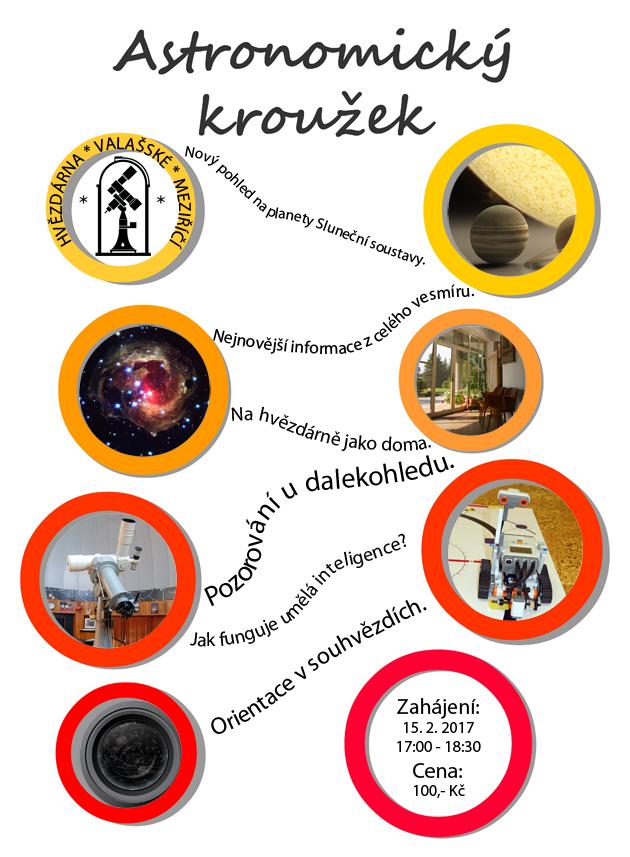 Plakát - astronomický kroužek
