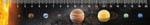 Pravítko Sluneční soustava