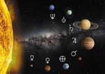 Sluneční soustava (se znaky/s popisem)