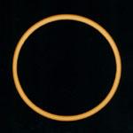 Prstencové zatmění Slunce
