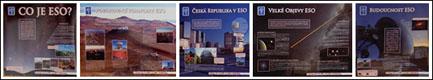 Náhled výstavy ESO - Evropská jižní observatoř