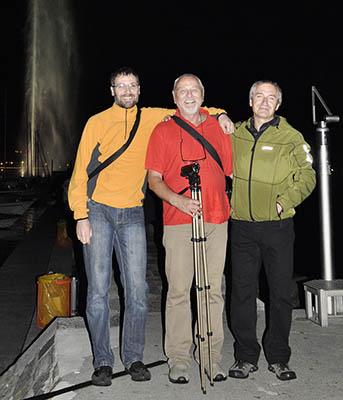 Účastníci výpravy (zleva): Hynek Olchava, Petr Olchava a Petr Hrůza.