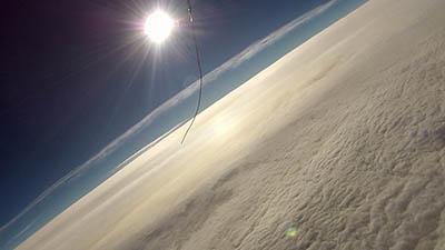 Snímek z letu SDS 01 - TONDA
