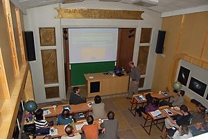 Pohled na účastníky semináře