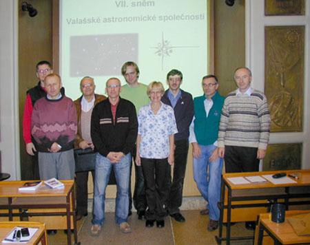 Účastníci VII. sněmu VAS.