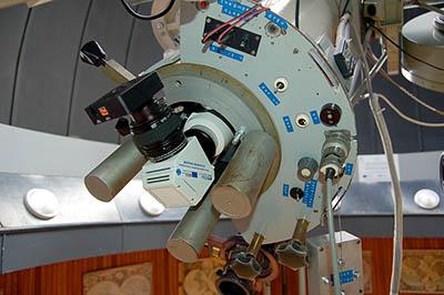Snímek nástavce na fotosférický dalekohled.