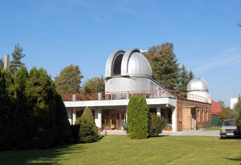 Hlavní budova Hvězdárny Valašské Meziříčí