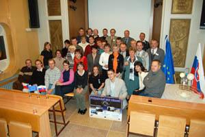Účastníci 1. Česko-slovenské konference o vzdělávání v astronomii