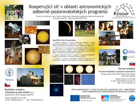 Infotabule projektu KOSOAP