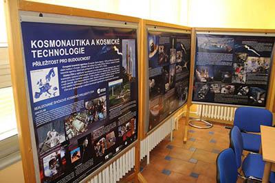 Výstava Kosmonautika a kosmické technologie - příležitost pro budoucnost