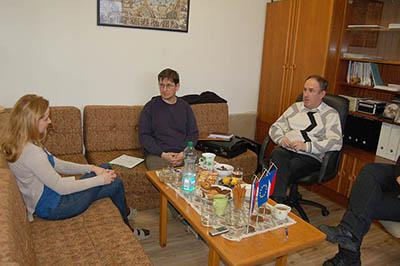 Koordinační setkání projektu Vědou a technikou ke společnému rozvoji.