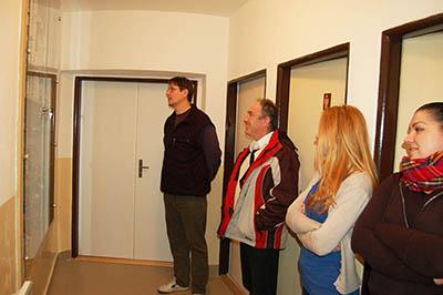 Exkurze po renovovaných interiérech Kysucké hvězdárny.